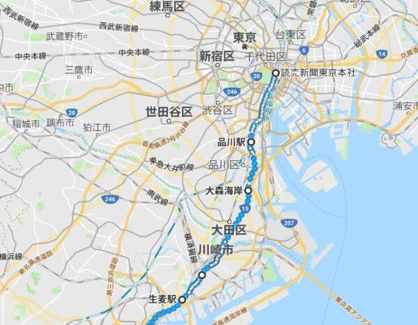 箱根駅伝2018のコース地図(往路復路)と通過時間1区~10区を紹介