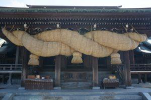 宮地嶽神社「しめ縄」含む3つの日本一! 出雲大社は1位でない?