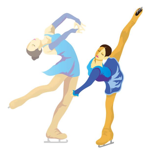 平昌オリンピックフィギュアスケート試合日程や放送時間と代表選手