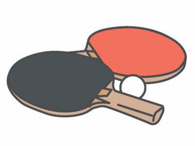 上田仁(卓球)ラケットとラバーは?結婚相手や出身高校と福原愛の関係