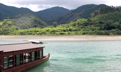 四万十川の遊覧船のおすすめランキング!乗り場はどこ?