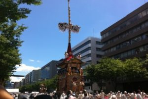 祇園祭2018山鉾巡行の時間は?場所とマップも