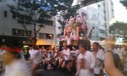 博多祇園山笠の追い山の終了時間と開始時間は?