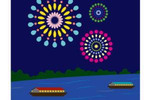 足立の花火2018有料席や屋形船の予約方法や値段