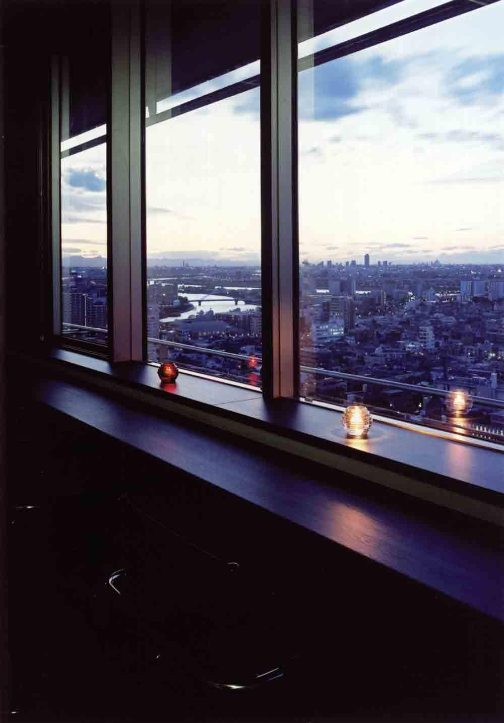 東京花火大祭2018花火の見えるホテルやレストラン情報まとめ