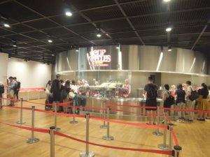 カップヌードルミュージアム(大阪)の混雑状況や所要時間は? 土日と平日を比較